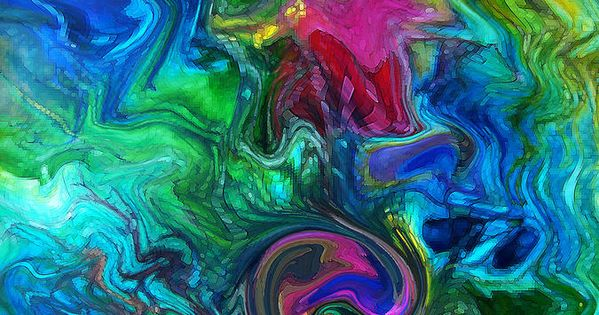 Most beautiful fine arts abstract paintings peacock for Most beautiful abstract art