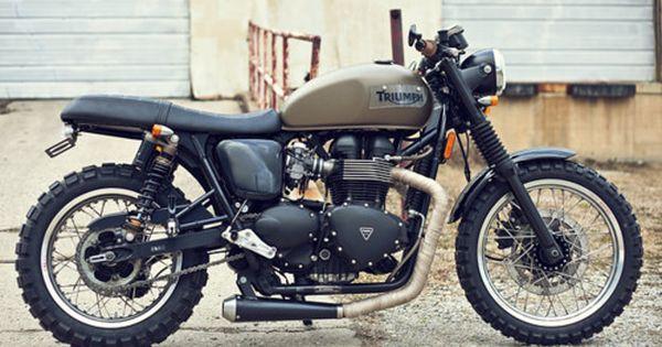 2008 Triumph Scrambler | motorbikes motorcycles motocicletas