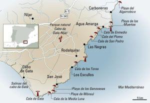 Cabo De Gata De Cala En Cala Cabo De Gata Cabo De Gata Almeria Costa De Almeria