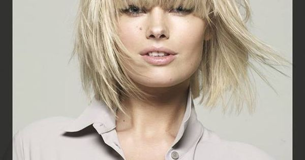 piecey hairstyles : piecey layered bob Hair Board Pinterest Layered bobs and Bobs
