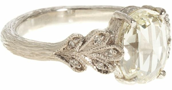 Vintage Engagement Ring -- This one I like because it has a