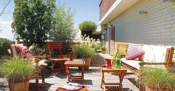 Fotos de decoraci n de terrazas aticos para m s - Fotos terrazas aticos ...