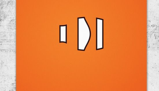 Wonchan Lee, Pixar Minimalistic Poster via Behance, Finding Nemo