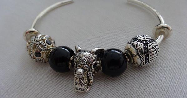 Thomas Sabo 8tlg Karma Armband Armreif 5 Beads 2 Stopper Zirkon Pave Neu Np368 Ebay