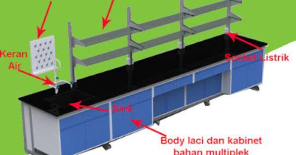 Meja Lab Wall Bench Laboratory Wsm 01 Dengan Gambar Meja Desain Rak