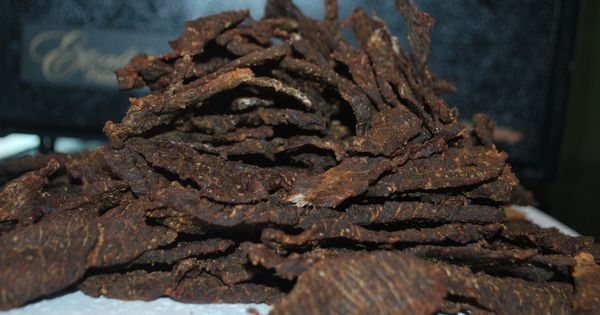 Homemade Beef Jerky 4 lbs london broil For the marinade: 1/4 c. soy ...