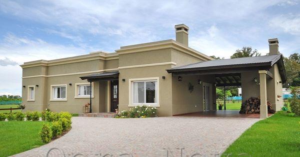 Al estilo argentino una casa encantadora en zona norte - Fachadas casas rurales ...