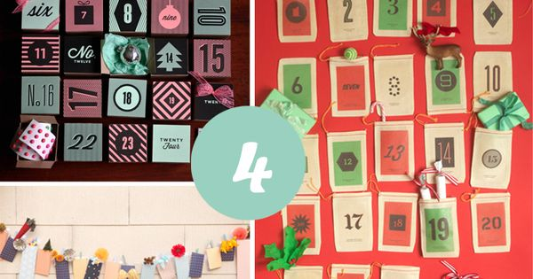 Calendarios de adviento diy navidad pinterest - Calendario de adviento diy ...