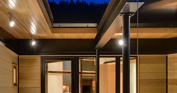 River Bank House, Montana, Black Steel And Wood, Balance Associates  Architects | Architecture: Materials U0026 Details | Pinterest | Montana,  Architects And ...