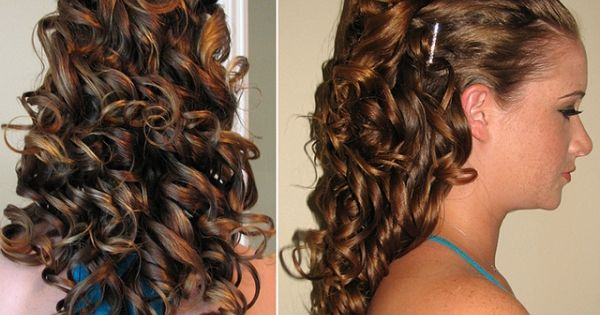 Curly Hairstyle Alexis Sweet 16 Masquerade Ball Ideas