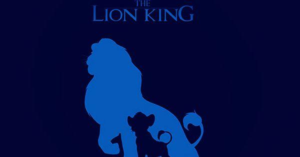 The Lion King Blur Minimal Art #iPhone #5s #wallpaper
