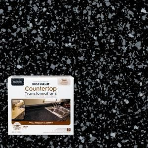 Rust Oleum Transformations 48 Oz Charcoal Small Countertop Kit