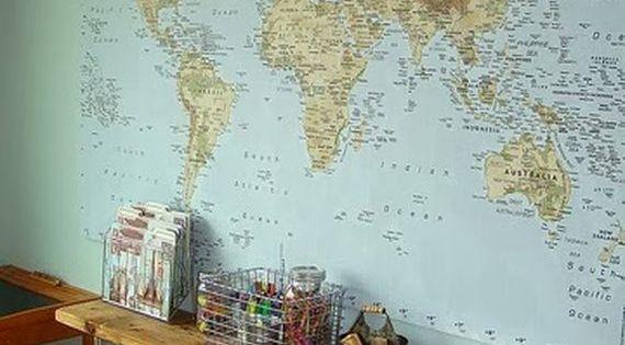d co voyage planisph re lit haut de gamme carte du monde 23 id es d corations pinterest. Black Bedroom Furniture Sets. Home Design Ideas