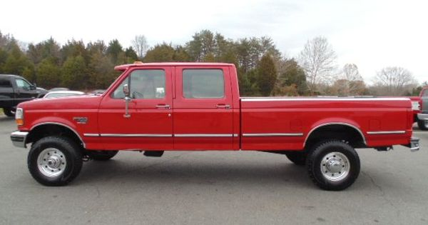 www.emautos.com 1995 Ford F-350 XLT 4dr 4WD Crew Cab Long Bed 7.3L Diesel Truck For Sale ...