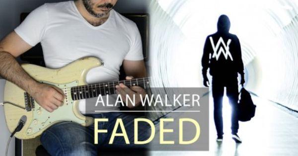 Alan Walker Faded Electric Guitar Cover By Kfir Ochaion