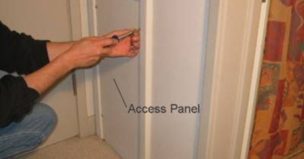 Create Framed Drywall Access Panels To Replace Our Old
