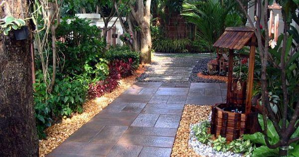 Patios y jardines peque os rusticos ideas campestres for Jardines rusticos campestres