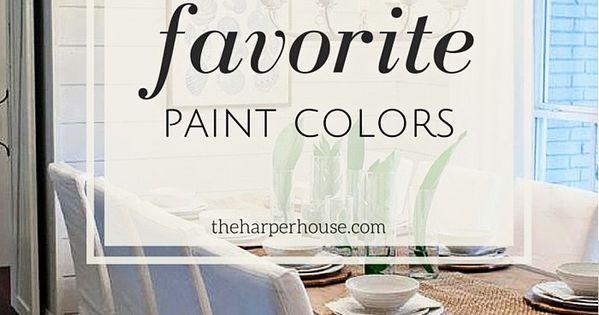 Fixer Upper Paint Colors Joanna 39 S 5 Favorites House