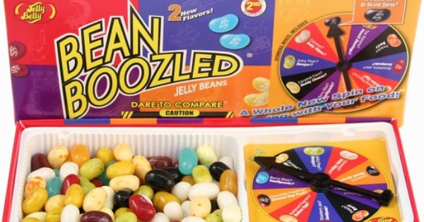 Bean boozled jelly bean challenge yummy food for Swedish fish jelly beans