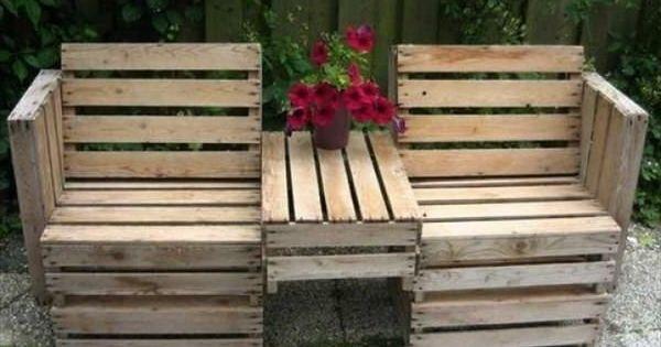palettenm bel f r den garten pflanzen innovative ideen bauen pinterest palettenm bel. Black Bedroom Furniture Sets. Home Design Ideas