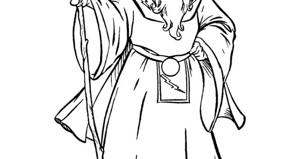 Sorcerer Coloring Pages This Fantasy And Medieval
