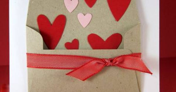 Sue's Stamping Stuff: A quick Stampin Up Valentine! Could work for a