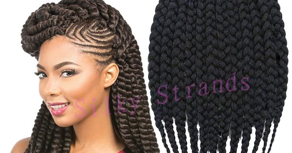 Crochet Braids Queue De Cheval : Tresses sEnEgalaises, Cheveux tressEs and Cheveux on Pinterest