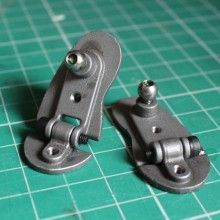 M01560 MOREZMORE HPA 2 Threaded M3 Foot Pads Stop Motion Puppet Feet Tie-Down