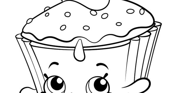 Peachy Shopkins Coloring Pages