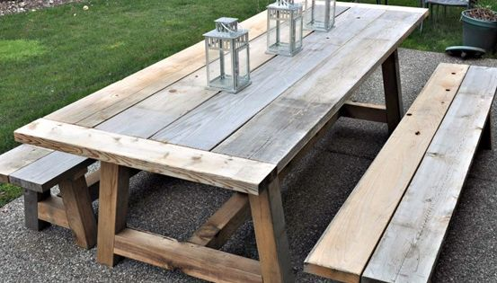 Diy furniture restoration hardware inspired outdoor for Restoration hardware teak outdoor furniture