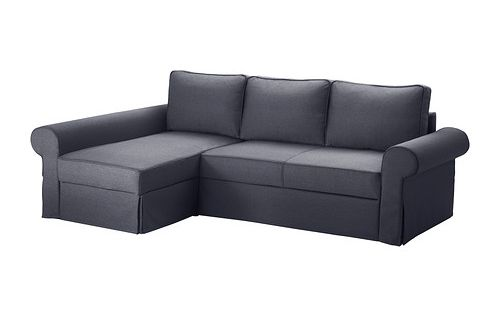 Ikea backabro mattarp sof cama con chaiselongue for Sofa con almacenaje
