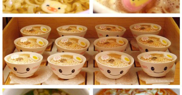 Ramen With Cute Fish Cake Shapes Eat All The Food