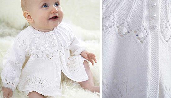 Free Knitting Pattern Royal Baby Matinee Coat By Patons