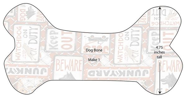 Free Dog Bone Pillow Pattern Website Visitors Have