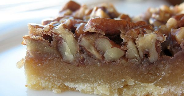 Maple pecan sticky bars like this one desserts pinterest
