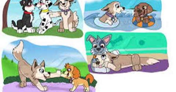 Rocky X Tundra For The Thunderfan21 Youtube Marshall Paw Patrol Paw Patrol Cartoon Dog