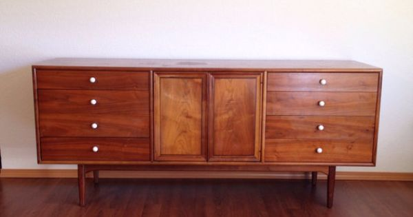 Sale vintage drexel declaration lowboy triple dresser for Furniture pick up seattle