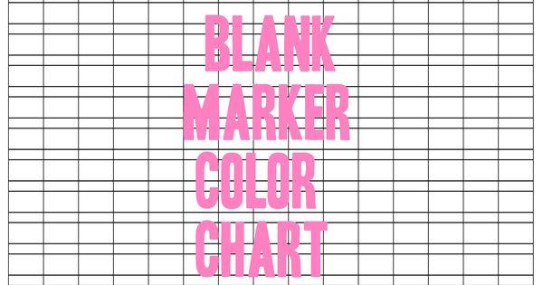 blank marker color chart by otomezakideviantartcom on