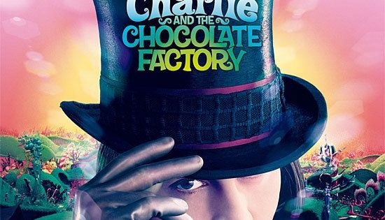 TB0119. Charlie and the Chocolate Factory / Movie Poster by Intralink Film