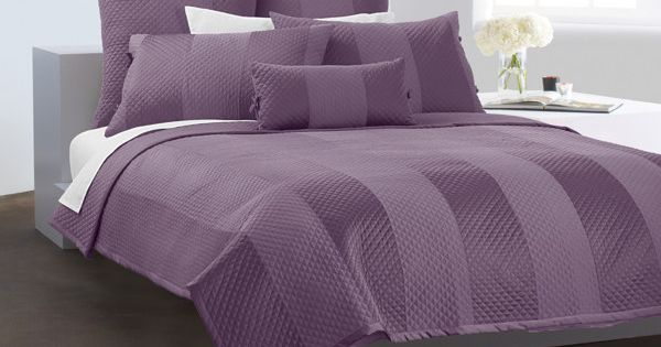 DKNY Harmony Quilt - Plum - Bed Bath & Beyond - Queen sized | Bedroom ...