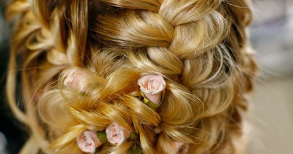 Gorgeous wedding hairstyle with braids. wedding hairstyles promhair