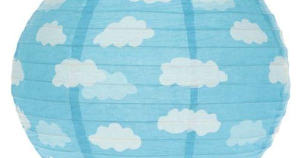 suspension boule japonaise nuage lampe lampion papier nuages pastel cloud lamp pastel kid 39 s. Black Bedroom Furniture Sets. Home Design Ideas