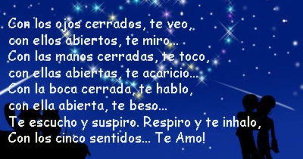 Short Love Poems In Spanish  Love Spanish Words  Y -9683