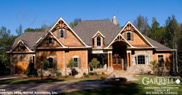 Wood Mountain Elevation : Garrell associates inc meadow lane cottage house plan