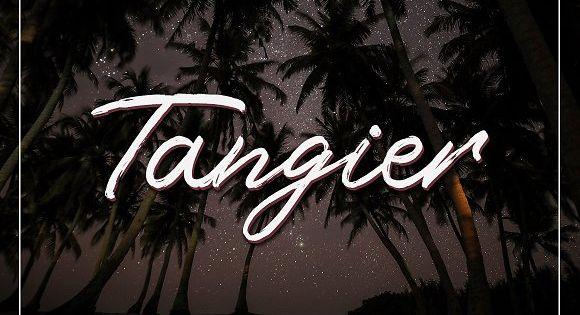 Tangier Script Font – hand written brush script.