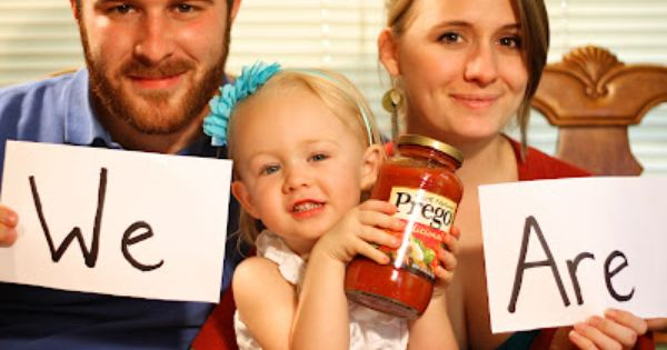 Fun Pregnancy Announcement Photo Credit: Mark Houser