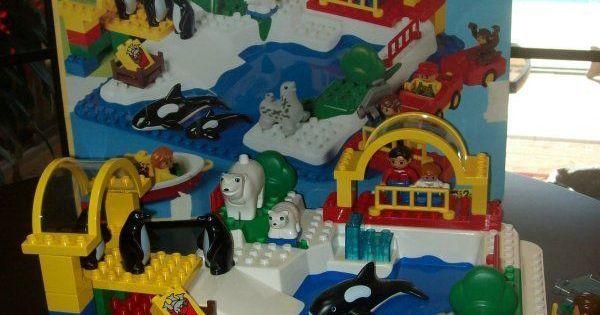 Vintage 70pc Lego Duplo Zoo Set #2670 Building Blocks ...