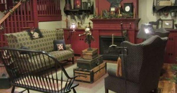 Colonial Keeping Room Colonial Pinterest Keeping