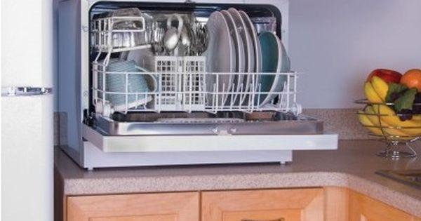 Countertop Dishwasher Energy Star : Haier Energy Star Countertop Portable Dishwasher 6 Place Setting ...