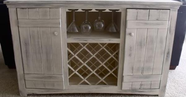 Farmhouse Wine Buffet Do It Yourself Home Projects From Ana White Wine Buffet Diy Farmhouse Table Home Diy